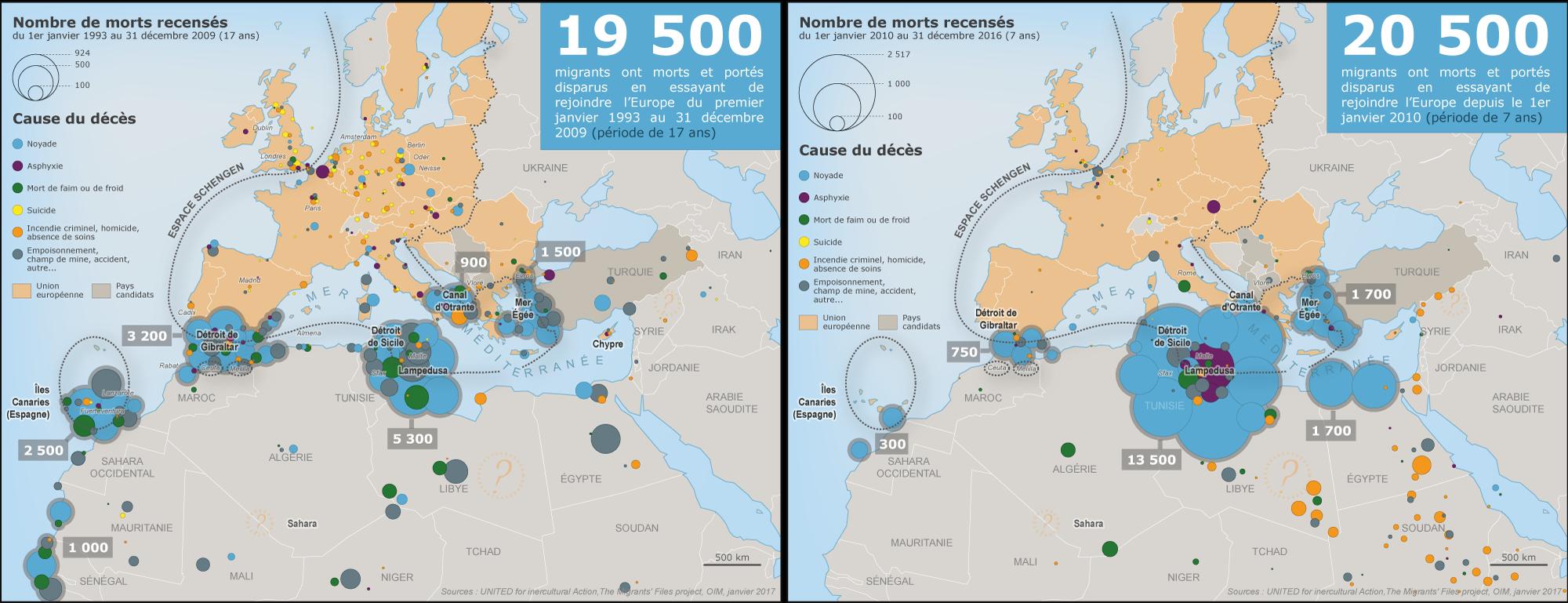 La Frontière Migratoire Européenne Carnet Neocartographique